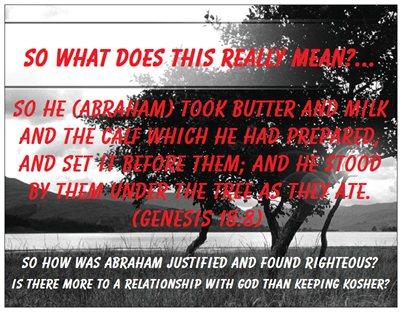 Abraham ... Kosher